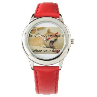 時間は重要時あなたの総督ではないです 腕時計