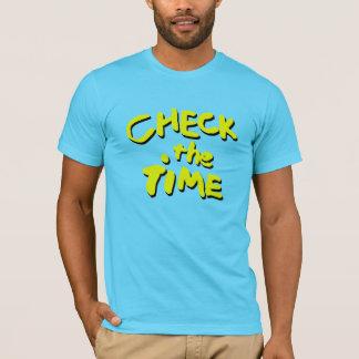 時間を点検して下さい Tシャツ