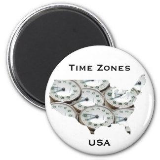 時間帯の壊中時計 マグネット