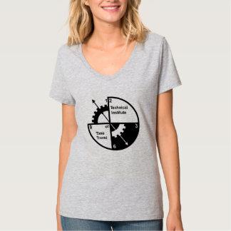 時間旅行女性のTシャツの技術的な協会 Tシャツ