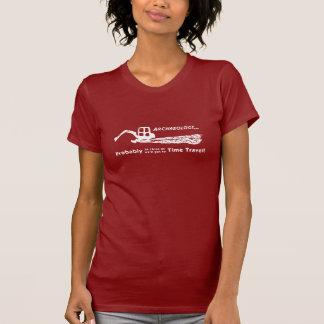 時間旅行女性のTシャツ Tシャツ