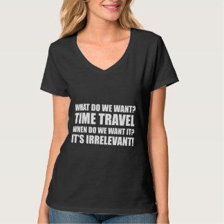 時間旅行 Tシャツ