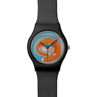 時間歪曲の腕時計 腕時計