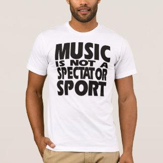 時間音楽ワイシャツを集めること Tシャツ