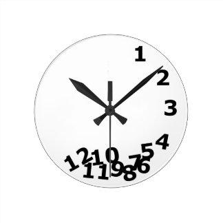 時間 ラウンド壁時計