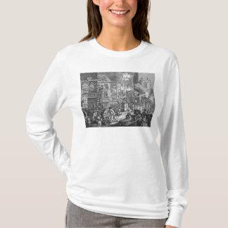 時、プレートI 1762年 Tシャツ