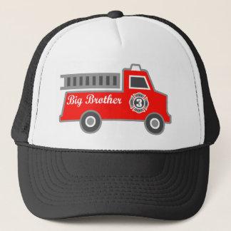 普通消防車のお兄さん キャップ