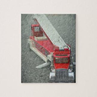 普通消防車のパズル ジグソーパズル