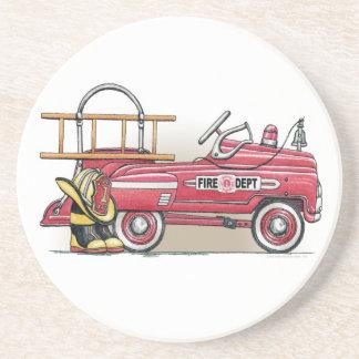 普通消防車のペダル車のコースター コースター
