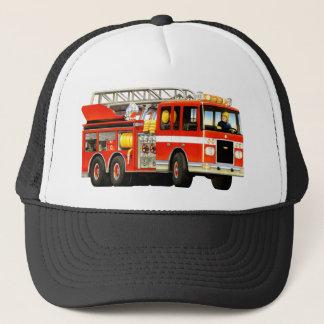 普通消防車の帽子 キャップ