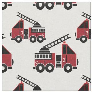 普通消防車の生地 ファブリック