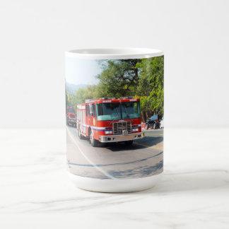 普通消防車 コーヒーマグカップ