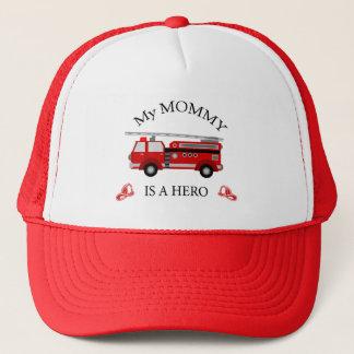 普通消防車-私のお母さんは英雄です キャップ