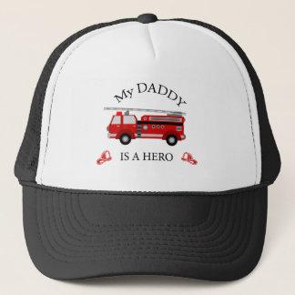 普通消防車-私のお父さんは英雄です キャップ