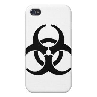 普遍的な生物学的災害[有害物質]の記章 iPhone 4/4S カバー