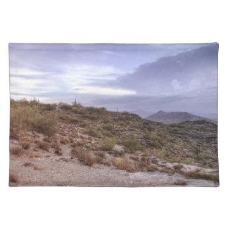 景色のアリゾナ ランチョンマット