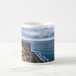 景色のグリーンランド海のマグ コーヒーマグカップ