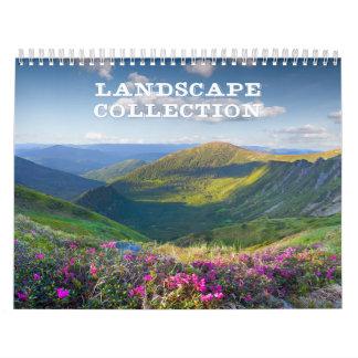 景色のコレクションのカレンダー カレンダー