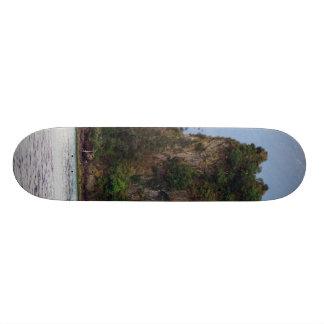 景色のスケートボード 19.7CM スケートボードデッキ