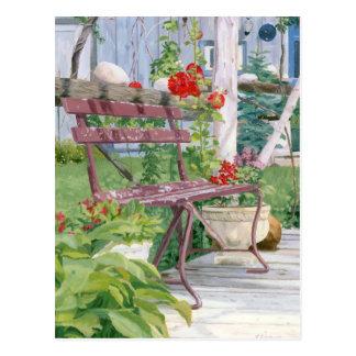 景色のベンチ ポストカード