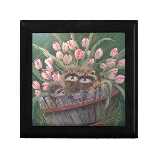 景色のペンキの絵画手の芸術の自然のアライグマ ギフトボックス