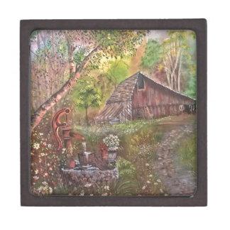 景色のペンキの絵画手の芸術の自然 ギフトボックス