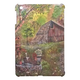 景色のペンキの絵画手の芸術の自然 iPad MINI CASE