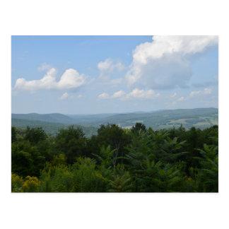 景色の写真撮影 ポストカード