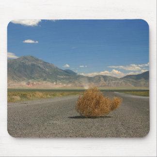 景色の国は山景色の守備につきます+ Tumbleweed マウスパッド