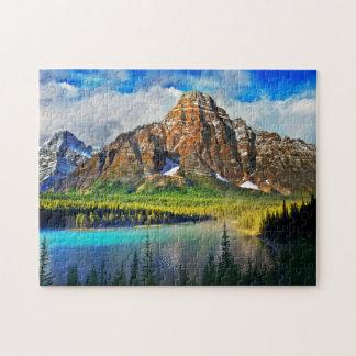 景色の山景色 ジグソーパズル