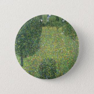 景色の庭(花の草原) 5.7CM 丸型バッジ