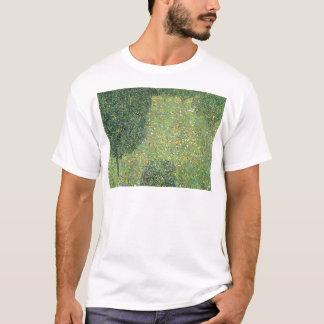 景色の庭(花の草原) Tシャツ