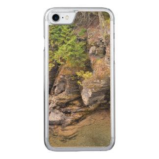 景色の氷河公園 CARVED iPhone 8/7 ケース