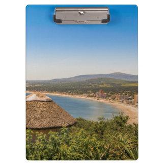 景色の空中写真Piriapolisウルグアイ クリップボード