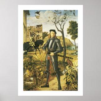 景色の若い騎士 ポスター