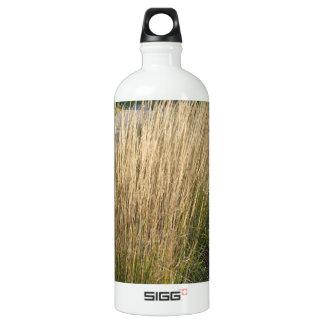 景色の草によって成熟させるテンプレートは文字IMGを加えます ウォーターボトル