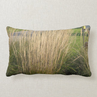 景色の草によって成熟させるテンプレートは文字IMGを加えます ランバークッション