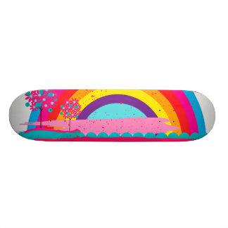 景色の虹 20CM スケートボードデッキ
