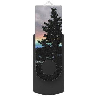 景色の虹 USBフラッシュドライブ