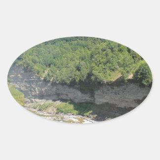 景色のNatrueの景色 楕円形シール