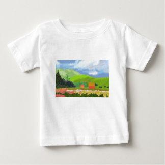 景色は芸術を収容します ベビーTシャツ