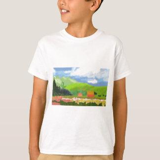 景色は芸術を収容します Tシャツ