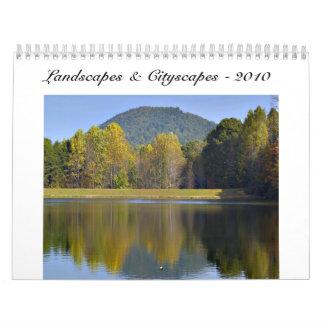 景色及び都市景観- 2010年 カレンダー
