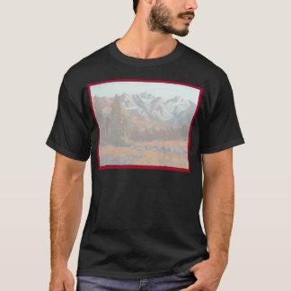 景色山の結婚式招待状セット Tシャツ