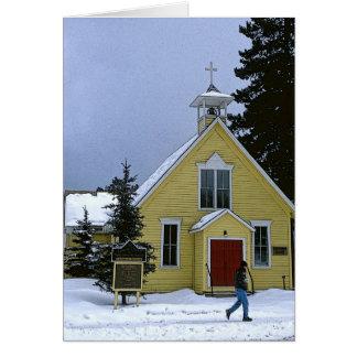 景色教会、Breckenridge、CO カード