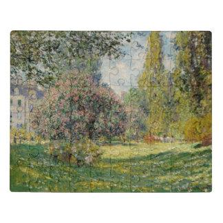 景色: Parc Monceau ジグソーパズル