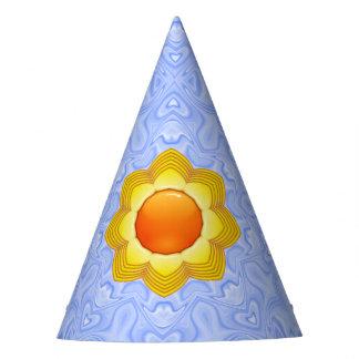 晴れた日の万華鏡のように千変万化するパターンの   カスタマイズ可能なパーティーの帽子 パーティーハット