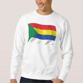 晶洞の旗のワイシャツ スウェットシャツ