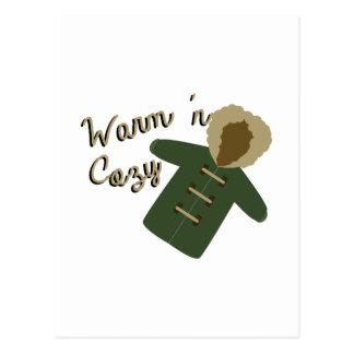 暖かいコート ポストカード