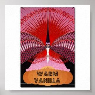 暖かいバニラ ポスター
